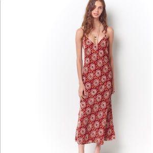 NWT Corey Lynn Calter Ana Velvet Slip Dress